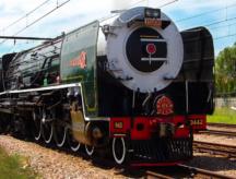 Sudafrica in treno